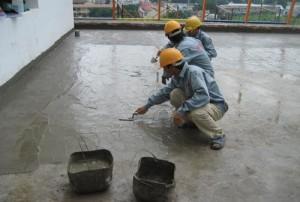 chống thấm mái bê tông