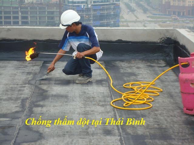 Cách chống thấm nhà vệ sinh tại Thái Bình triệt để uy tín.3