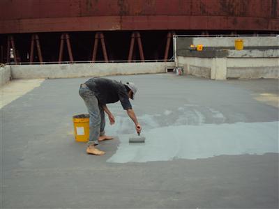 Chống thấm trần tại Hoàn Kiếm triệt để bằng nhựa đường .2