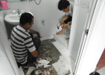 Giá dịch vụ chống thấm dột nhà vệ sinh tại Bắc Giang rẻ nhất.3