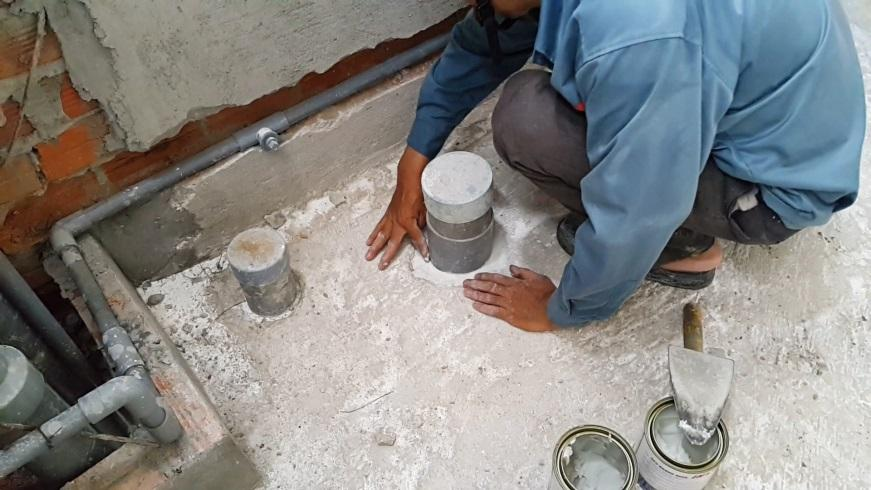 Tại sao phải thi công chống thấm dột nhà vệ sinh tại Hà Nam.1