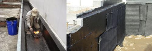 chống thấm khe tiếp giáp giữa 2 nhà