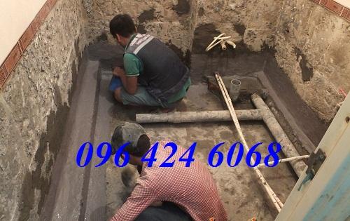 Gọi dịch vụ chống thấm sàn nhà vệ sinh tại Thái Nguyên 0964246068.2