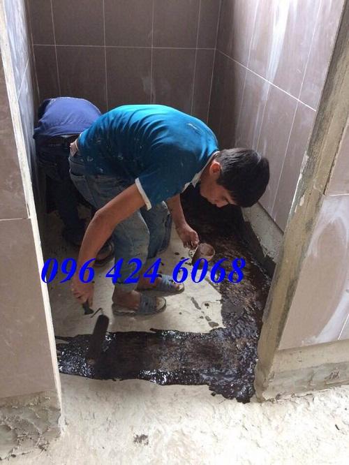 Gọi dịch vụ chống thấm sàn nhà vệ sinh tại Thái Nguyên 0964246068.4