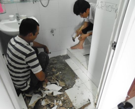 Giải pháp chống thấm nhà vệ sinh tại Nam Định bảo hành 10 năm.4