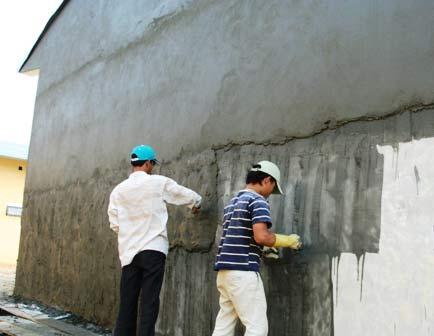 chống thấm tường liền kề