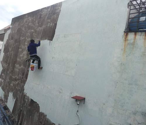 sơn chống thấm tường ngoài trời