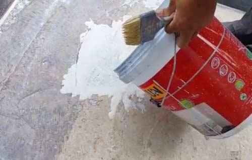 Chống thấm sàn nhà vệ sinh bằng Intoc 04 super