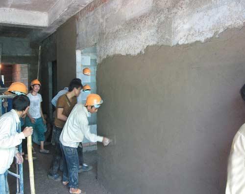 phòng chống nấm mốc cho tường nhà