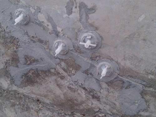 chống thấm cho vết nứt bê tông