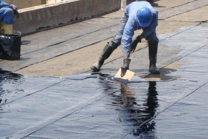 vật liệu chống thấm sân thượng bằng nhựa đường