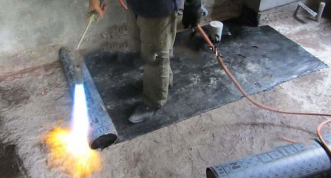 vật liệu chống thấm màng khò nóng 2