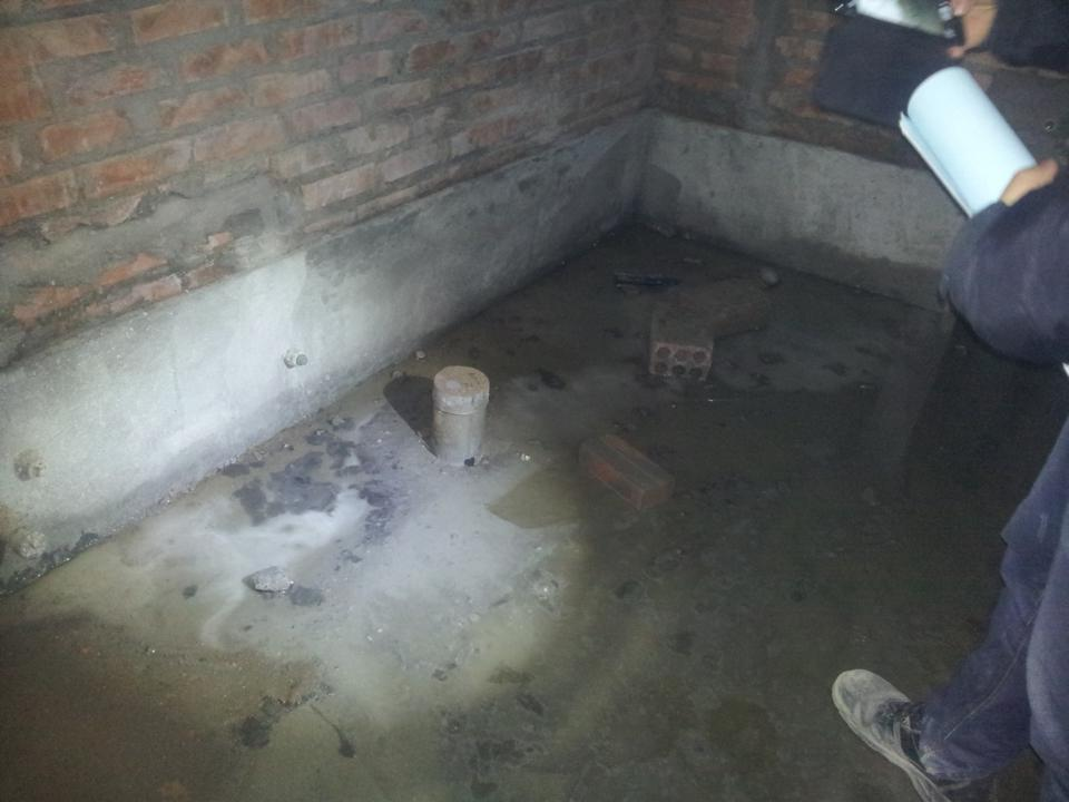 chống thấm toilet