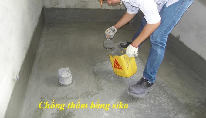 Cách chống thấm nhà vệ sinh tại Thái Bình triệt để uy tín.2