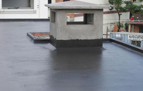 Chống thấm trần nhà tại ba đình