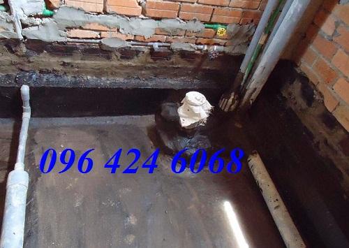 Gọi dịch vụ chống thấm sàn nhà vệ sinh tại Thái Nguyên 0964246068.3