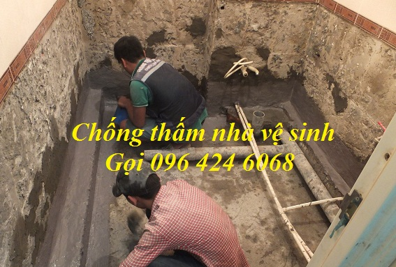 Giải pháp chống thấm nhà vệ sinh tại Nam Định bảo hành 10 năm2