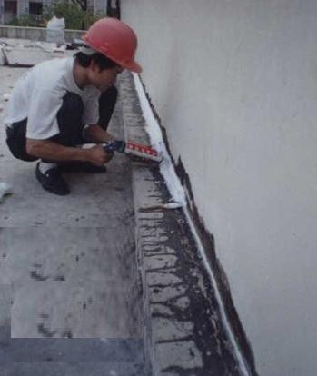 keo chống thấm khe tường