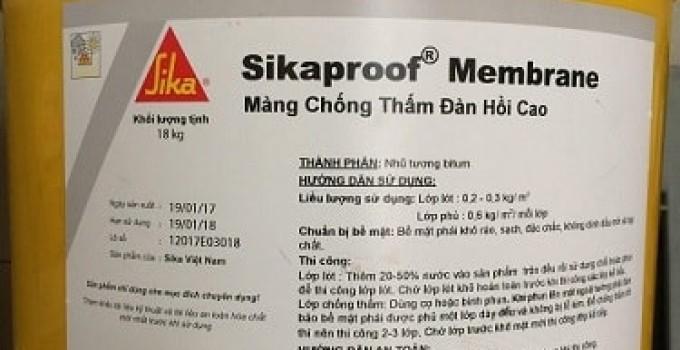 vat lieu chong tham sika membrane