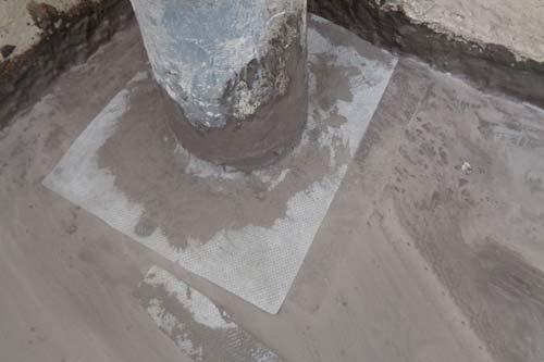 chống thấm cổ ống xuyên sàn