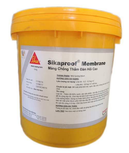 chống thấm bằng Sikaproof Membrane