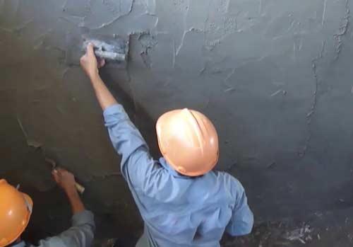 Chống thấm tường bằng INTOC