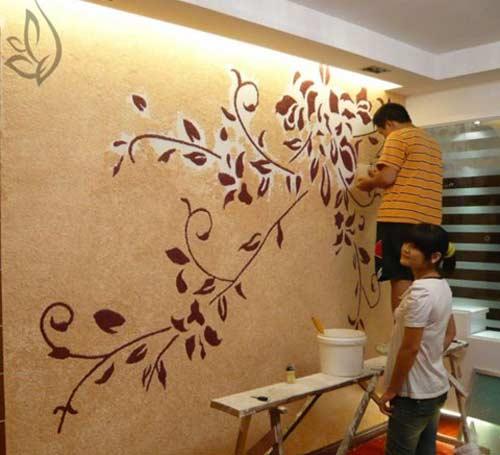 giấy dán tường chống thấm