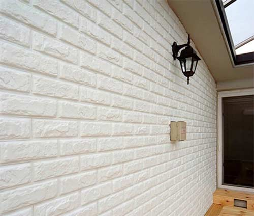 công tấm xốp giả gạch đá chống thấm tường
