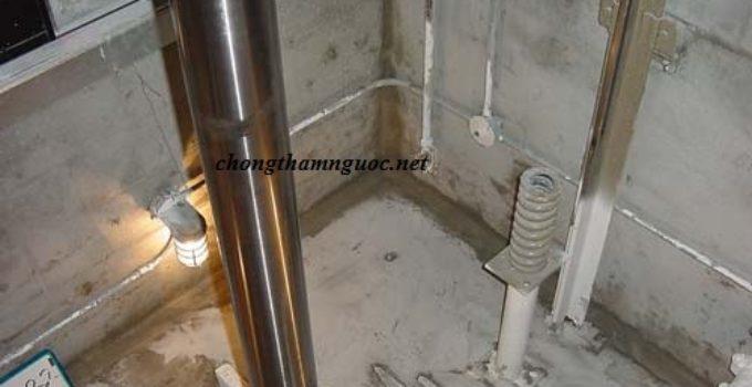 chống thấm hố pít thang máy