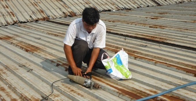 chống thấm cho mái tôn