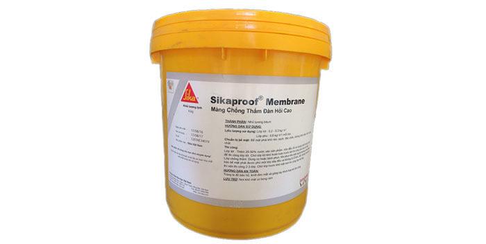Cách sử dụng Sikaproof Membrane chống thấm sân thượng