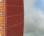 Keo cha ron - gạch lát sân thượng chống thấm