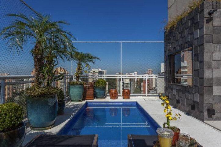 Mẫu bể bơi trên sân thượng số 1