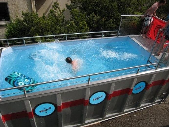 Mẫu bể bơi trên sân thượng số 5