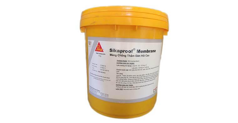 keo chống thấm nhà vệ sinh Sikaproof Membrane