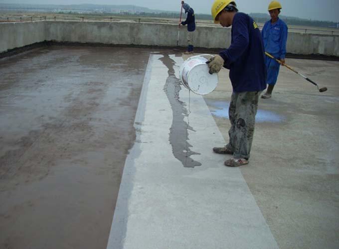 Quy trình Chống thấm sàn mái bê tông bị nứt 3