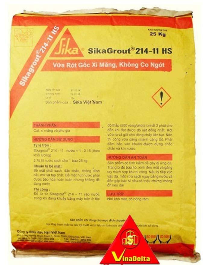 vữa không co ngót SikaGrout-214-11-HS