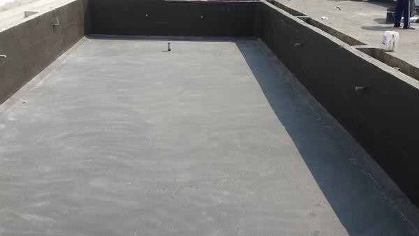 Chống thấm bể bơi mới xây