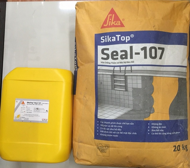 Chất chống thấm Sika có nhiều ưu điểm nổi trội