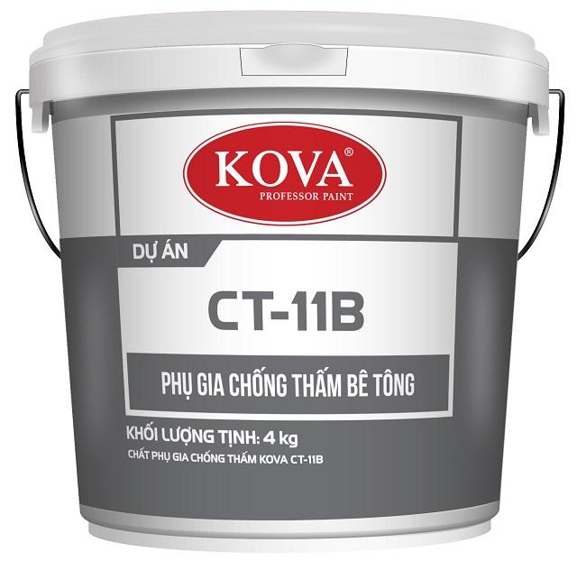Chất chống thấm Kova dùng ngăn công trình bị thấm nước hiệu quả
