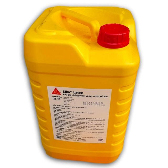 Chất phụ gia chống thấm giúp tăng độ bám dính khi kết hợp với những nguyên liệu khác