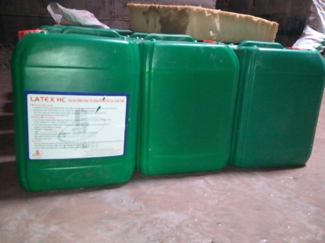 Phụ gia chống thấm bê tông CCP Latex HC