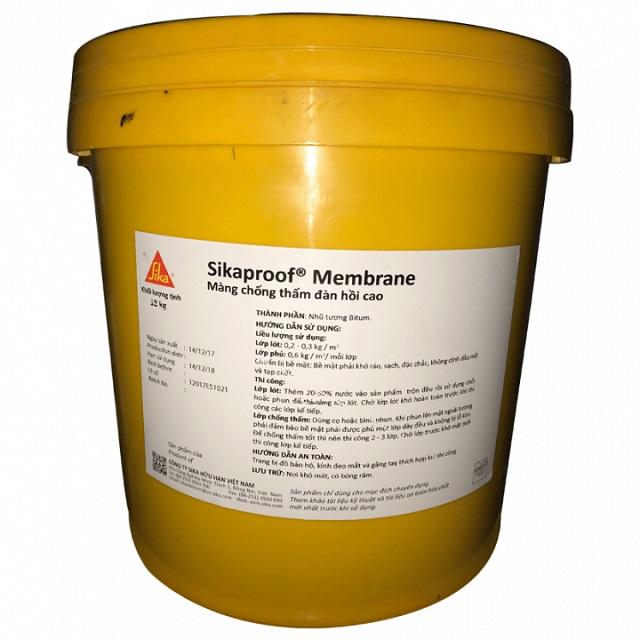 Màng chống thấm dạng lỏngSikaproof Membrane 6kg