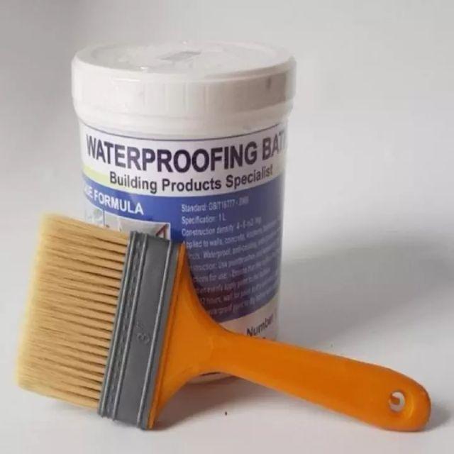 Sử dụng keo chống thấm để làm chống thấm nhà tắm