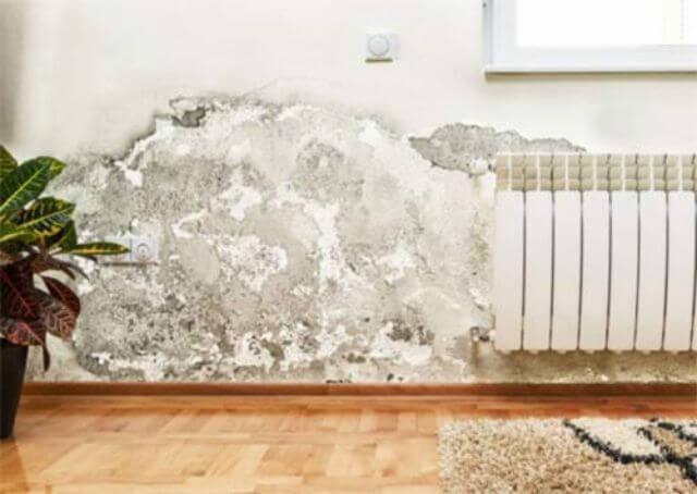 Hậu quả khi không xử lý chống thấm nhà liền kề