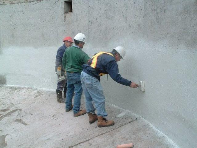 Chống thấm tường nhà liền kề từ khi bắt đầu xây