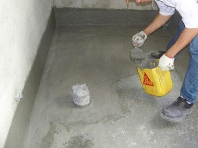 Bột chống thấm tường, sàn công trình