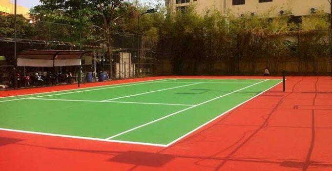 Mục đích thi công sân Tennis