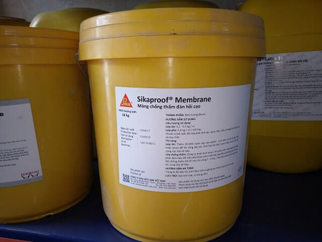 Sử dụng Sikaproof Membrane