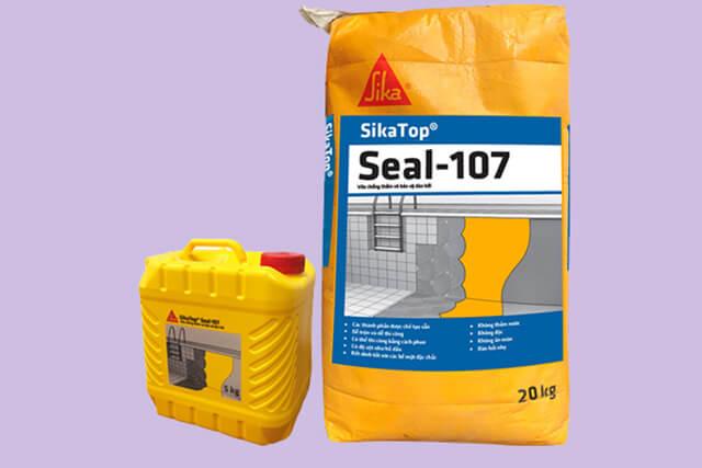 Sử dụng Sikatop Seal 107